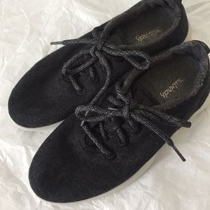 Allbirds charcoal gray size 8 great condition